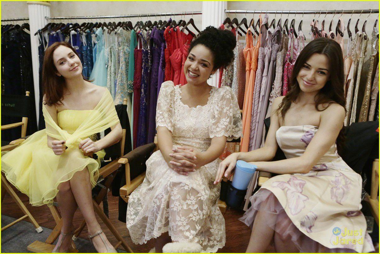 Brenna, Beth et Natalie - @ ABC Family