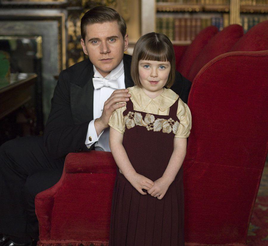 Tom et Sa fille, Sibbie - © ITV