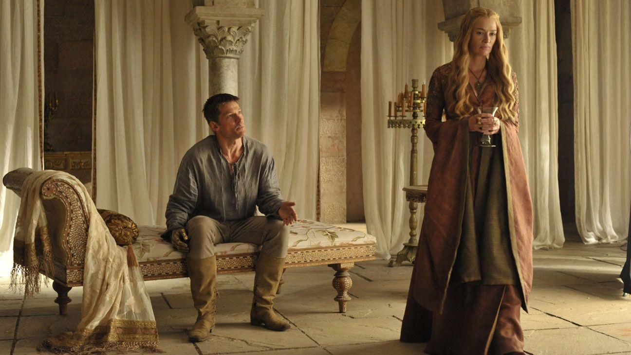 Jaimie et Cerseï - © HBO