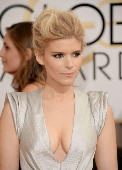Il a du être difficile de regarder Kate Mara (House of Cards) dans les yeux ! - © Getty/Zap2it