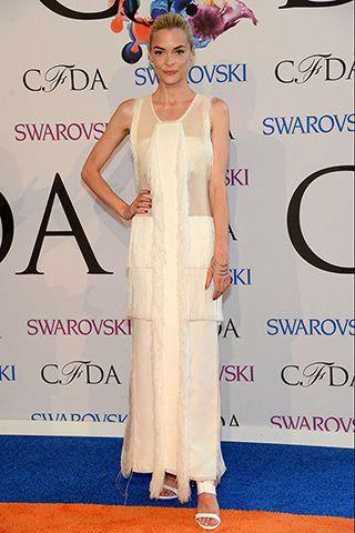 "Jaime King de ""Hart of Dixie, aussi transparente que sa robe ! - © Getty"