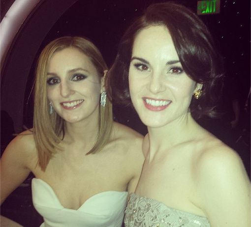 Laura Carmichael et Michelle Dockery, les soeurs de Downton - © Michelle Dockery/Instagram