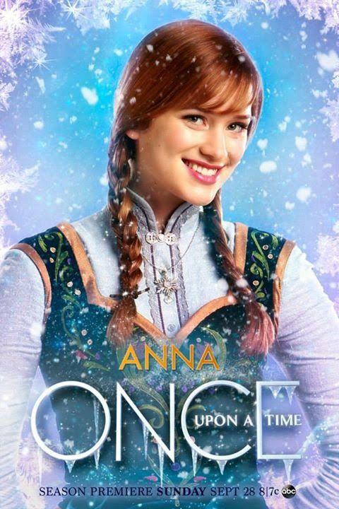 On ne va pas se mentir, les deux nouveaux posters de OUAT sont très moches ! Introducing Anna et... - © ABC