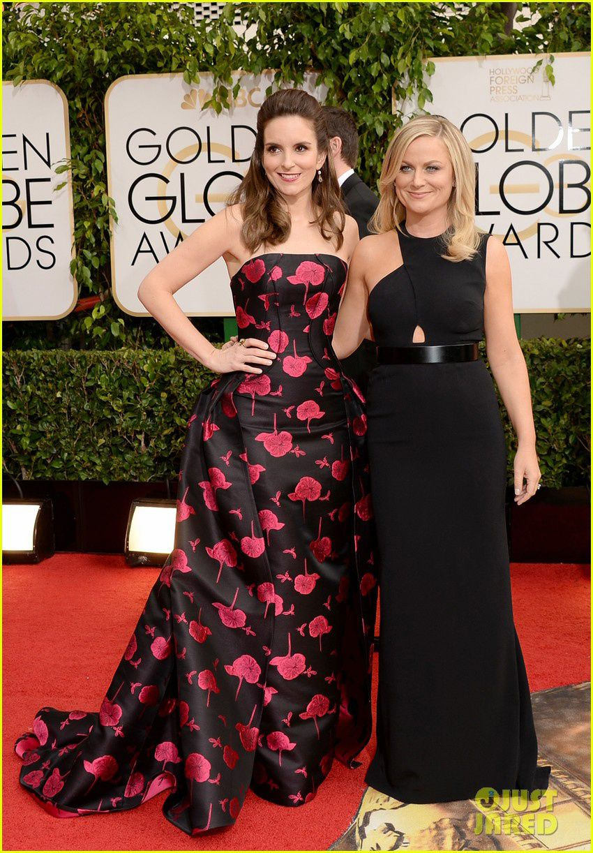 Les hôtes de la soirée, Tina Fey et Amy Poehler - © Getty/Just Jared