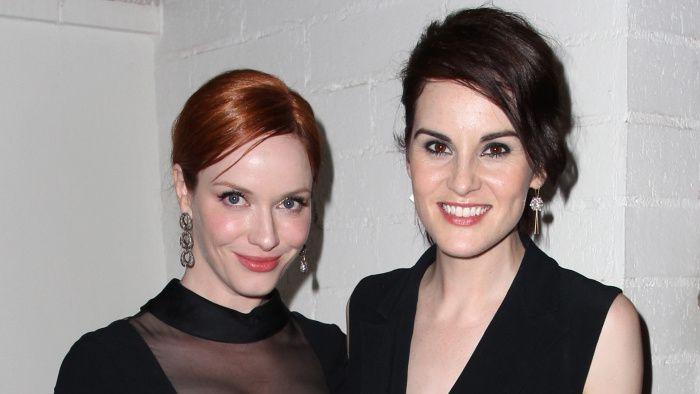 Christina Hendricks et Michelle Dockery - © Getty Images