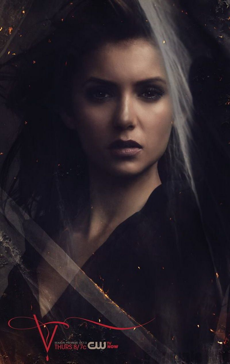 "Elena Gilbert, une vampire qui s'assume dans ""The Vampire Diaries"" - © CW"
