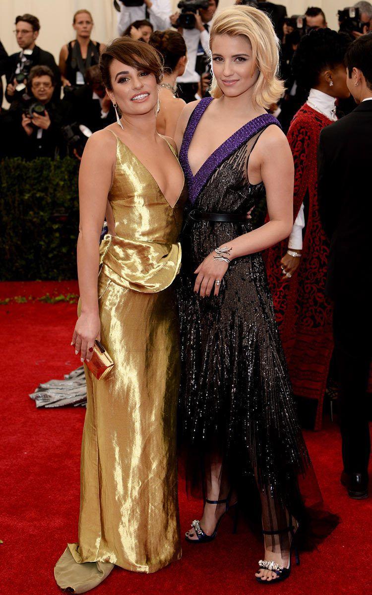 Lea Michele et Dianna Agron - © Getty