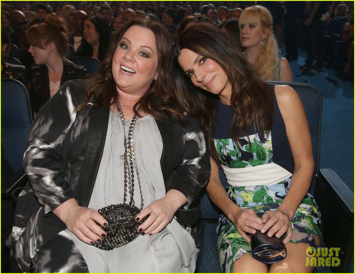 Melissa McCarthy en tandem avec Sandra Bullock - © Getty/Just Jared