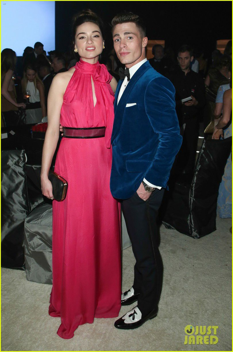 """Crystal Reed et son ancien collègue de """"Teen Wolf"""" - © Just Jared/Getty"""