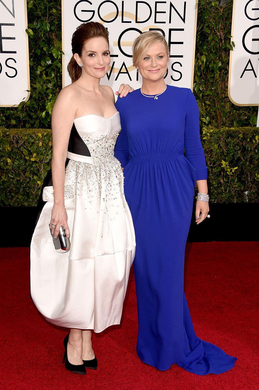 Tina Fey et Amy Poehler, les animatrices de la soirée