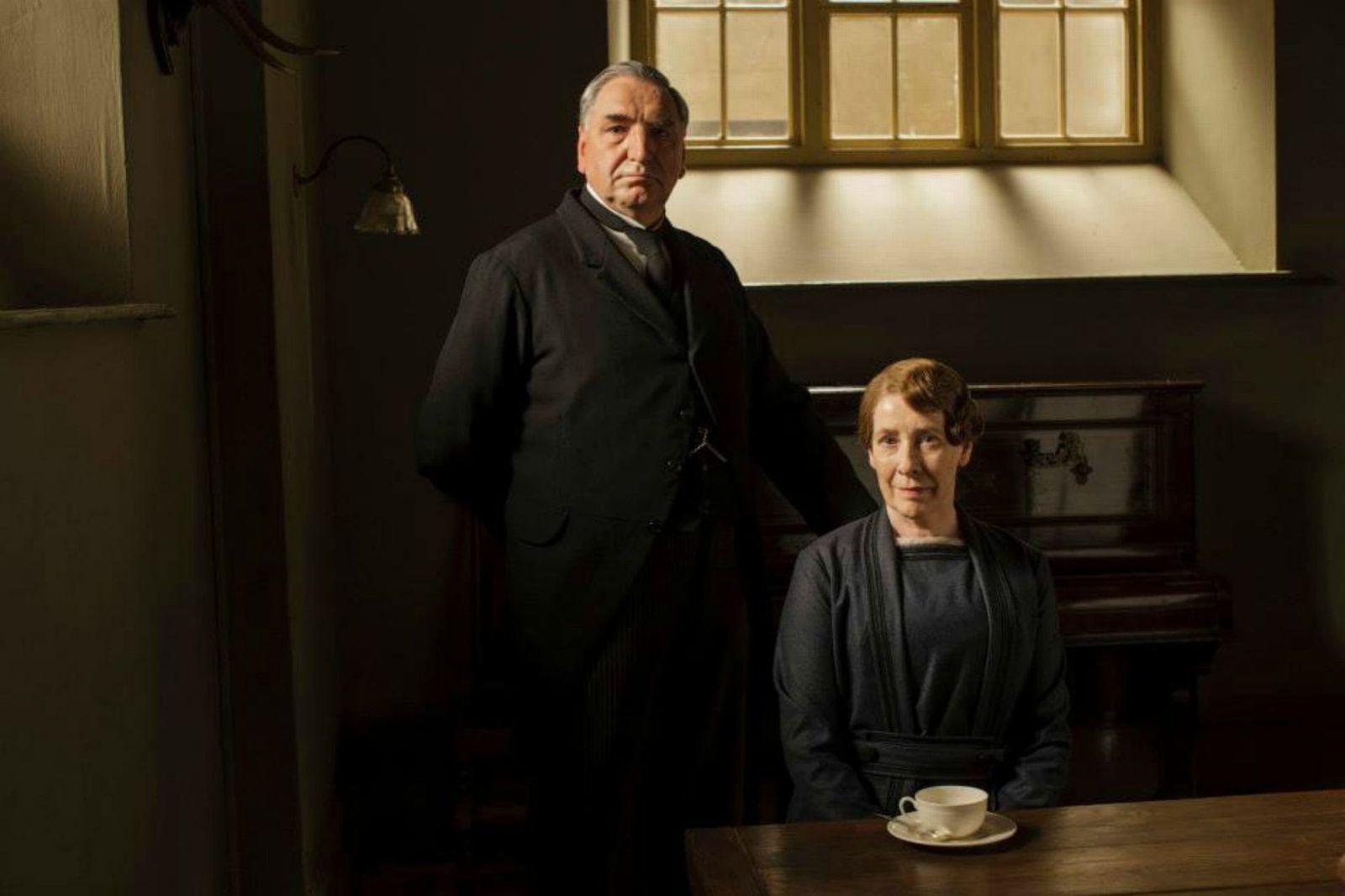Carson et Mrs Hugues - © ITV