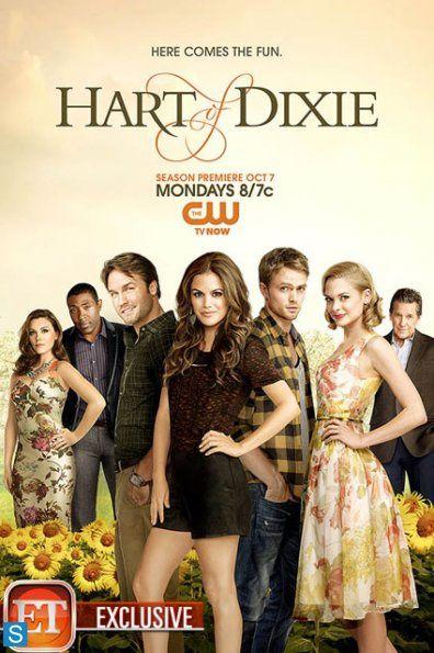 """La formidable Annabeth (à gauche) est enfin récurrente dans """"Hart of Dixie"""" et donc sur le poster promo. Et si on virait Zoé Hart ??? - © CW"""