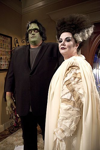 "La fiancée de Frankenstein s'est réincarnée en Molly de ""Mike and Molly"" - © CBS"