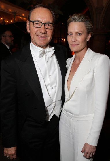 Kevin Spacey et Robin Wright - © Getty