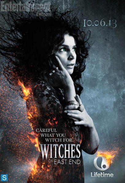 """... et Julia Ormond dans """"The Witches of East End"""" - © Lifetime"""