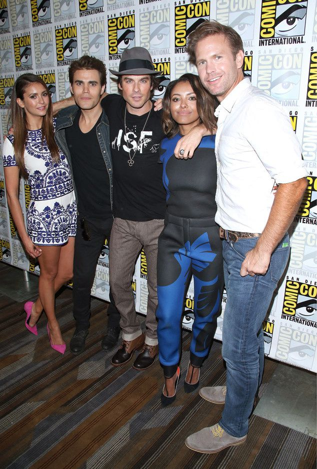 "Le cast de ""The Vampire Diaries"" - © Getty"