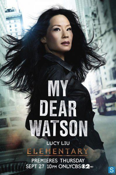 """Le poster date de l'an dernier mais met joliment en avant Joan Watson de """"Elementary"""" - © CBS"""