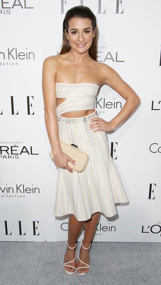 """Lea Michele de """"Glee - © Elle"""
