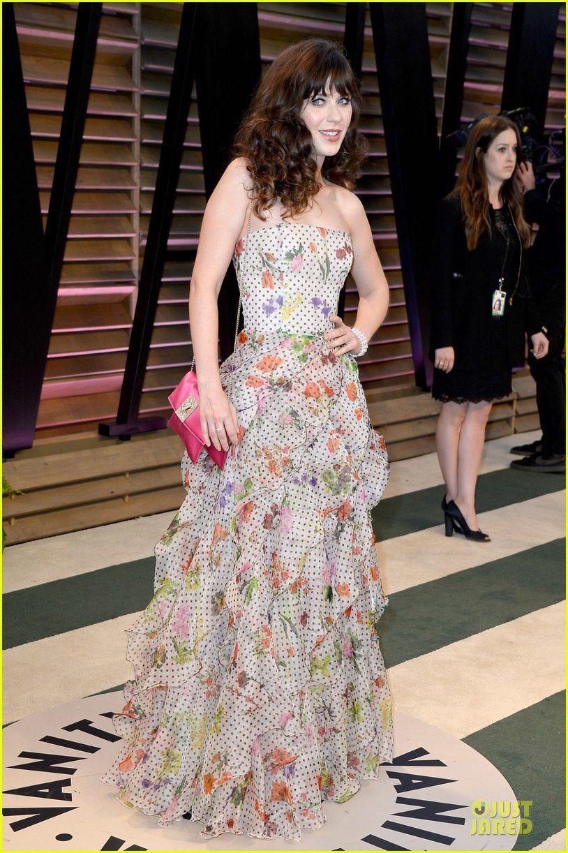 Zooey deschanel, New Girl, new dress - © Just Jared/Getty