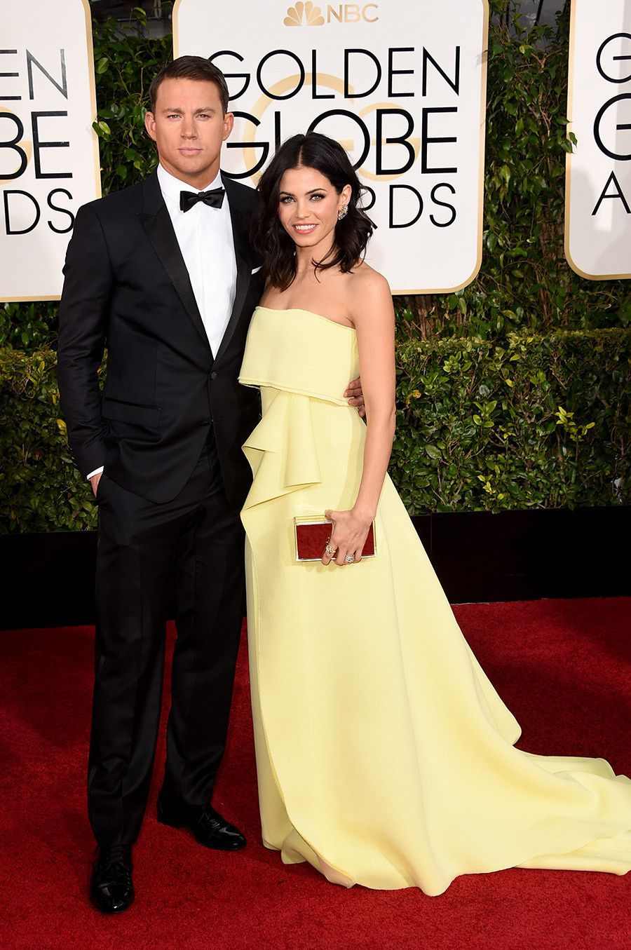 Channing Tatum et son épouse Jenna Dewan-Tatum de Witches of East End - © Getty