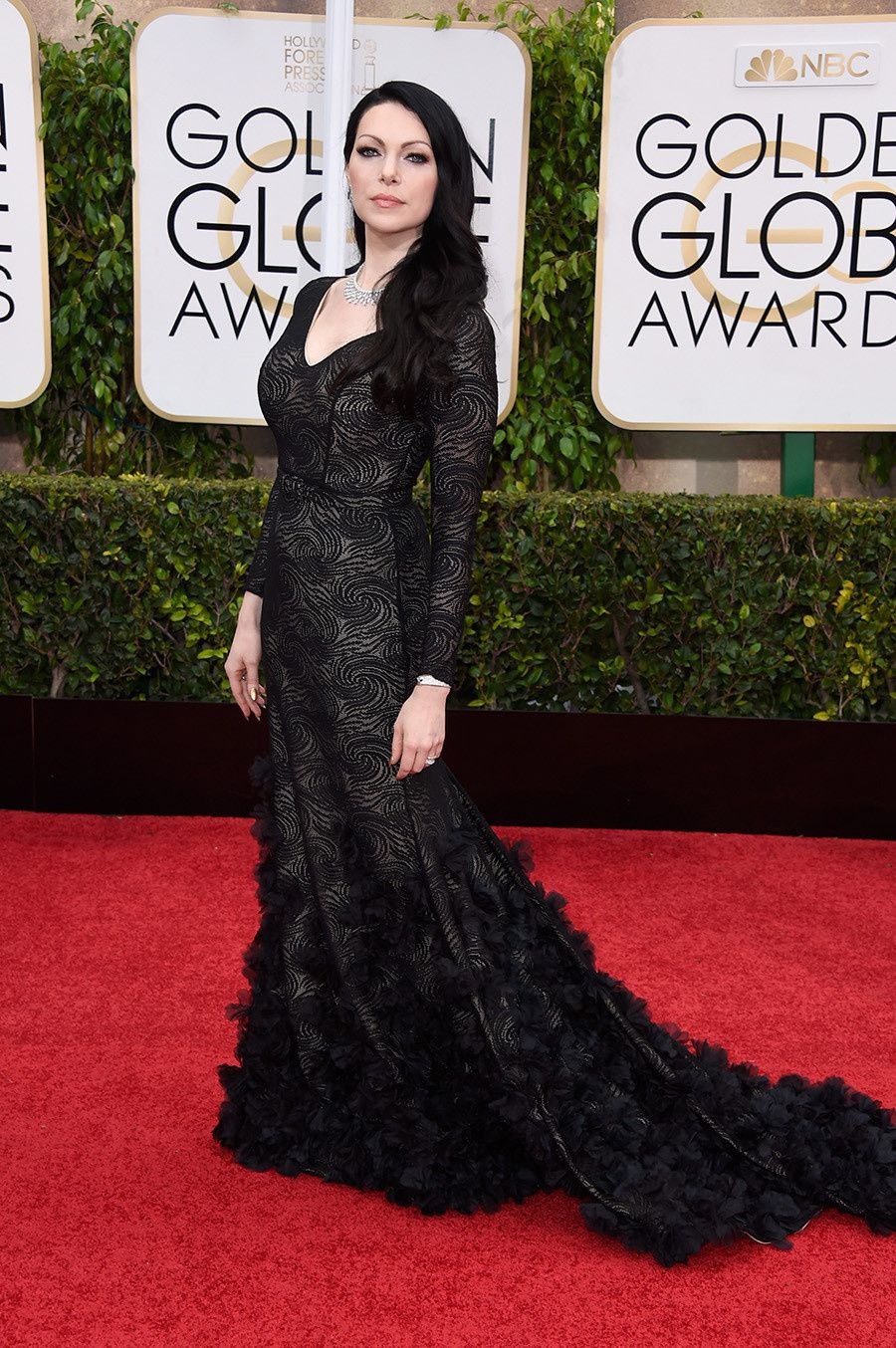 Laura Prepon très Black Widow ! - © Getty