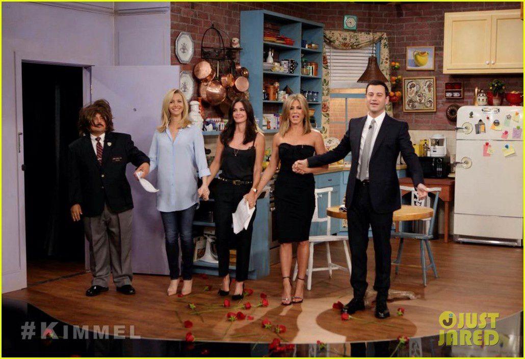 La réunion (girls) Friends selon Jimmy Kimmel