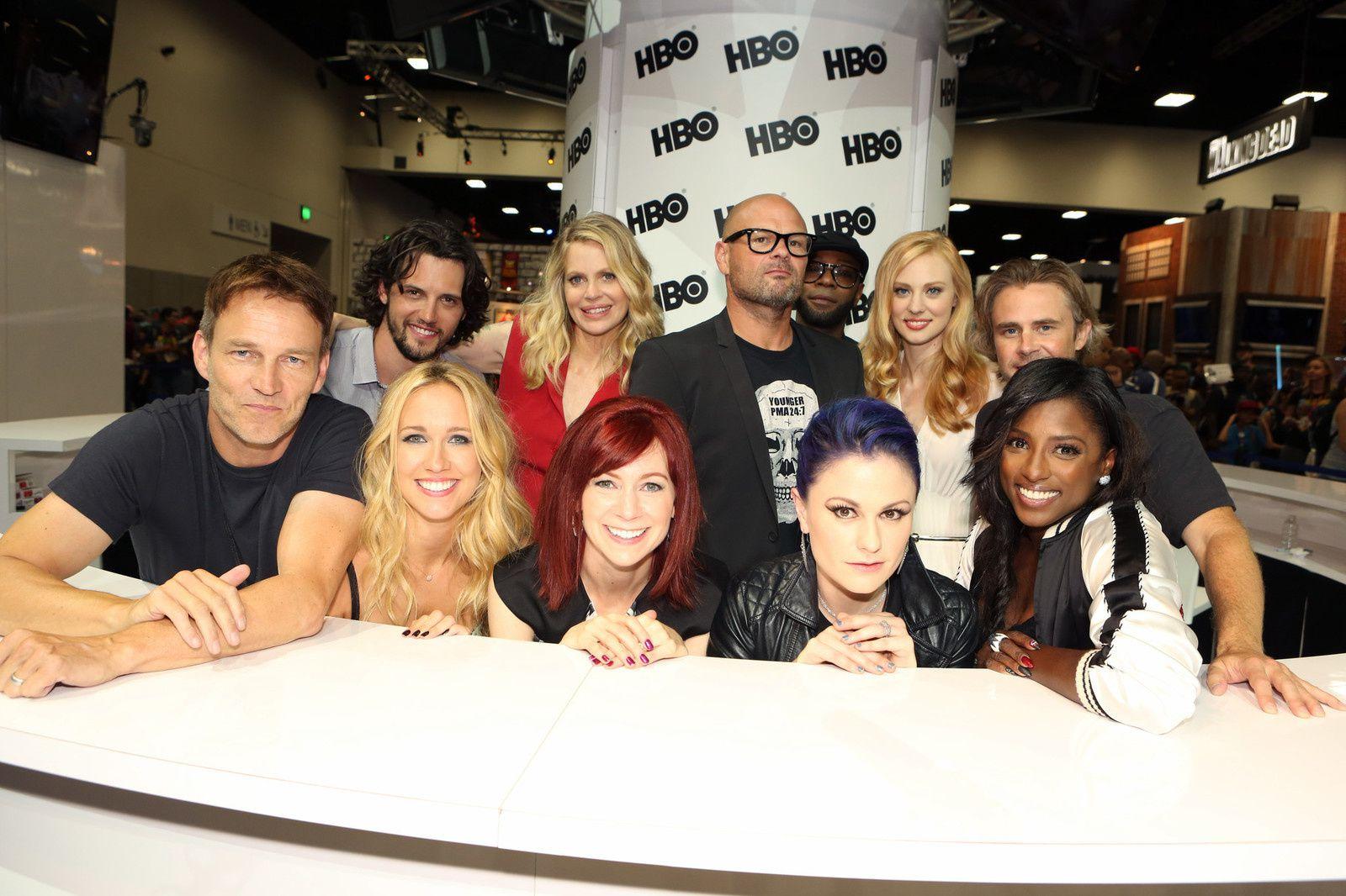 Dernier Comic Con pour l'équipe de True Blood - © Getty