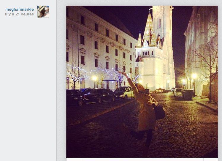 Megan Markle passe Thansgiving à Budapest - © Megan Markle