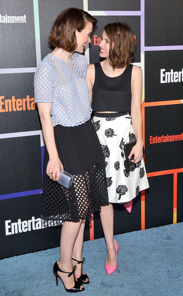 Sarah Paulson et Emma Roberts - © Getty