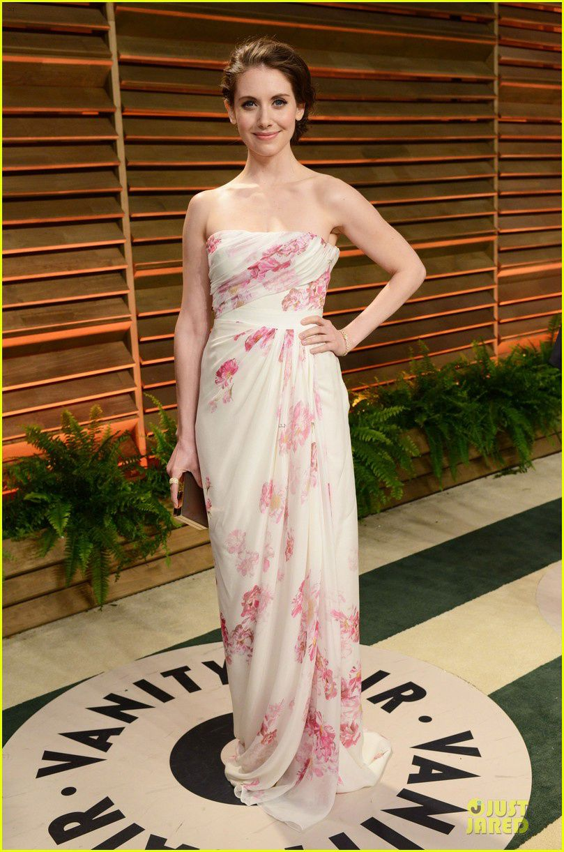 Alison Brie, tout simplement - © Just Jared/Getty