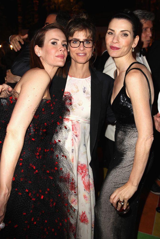 Sarah Paulson, Amanda Peet et Julianna Margulies - © Getty