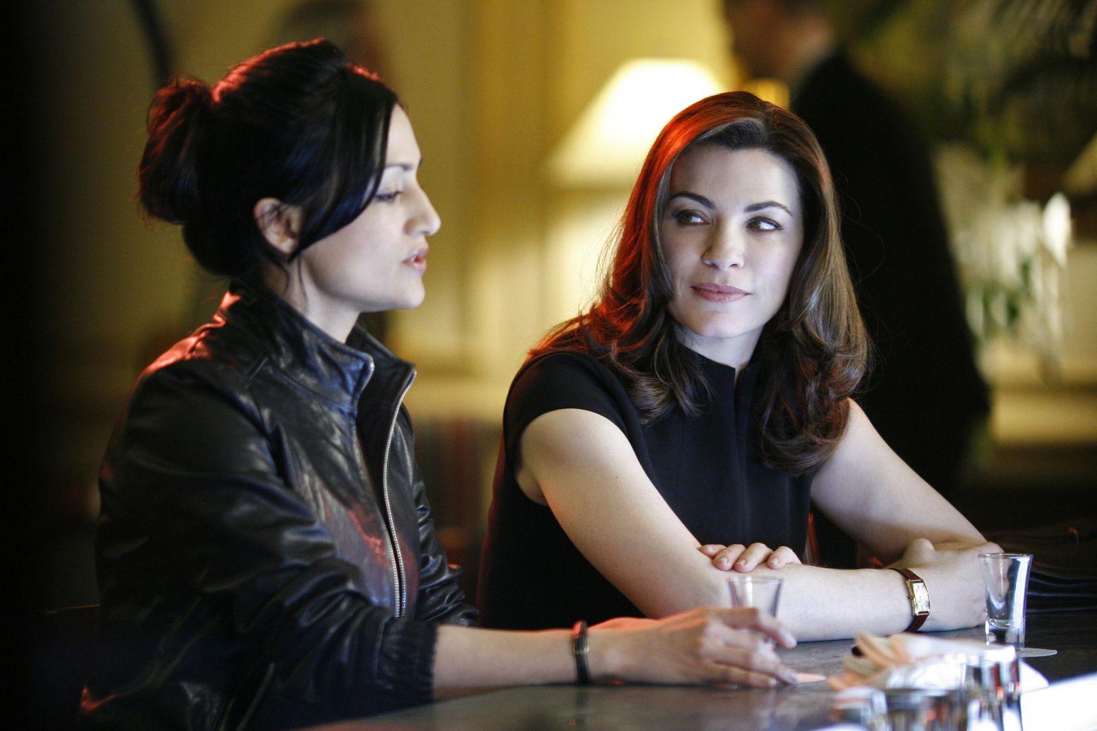 Kalinda et Alicia - © CBS