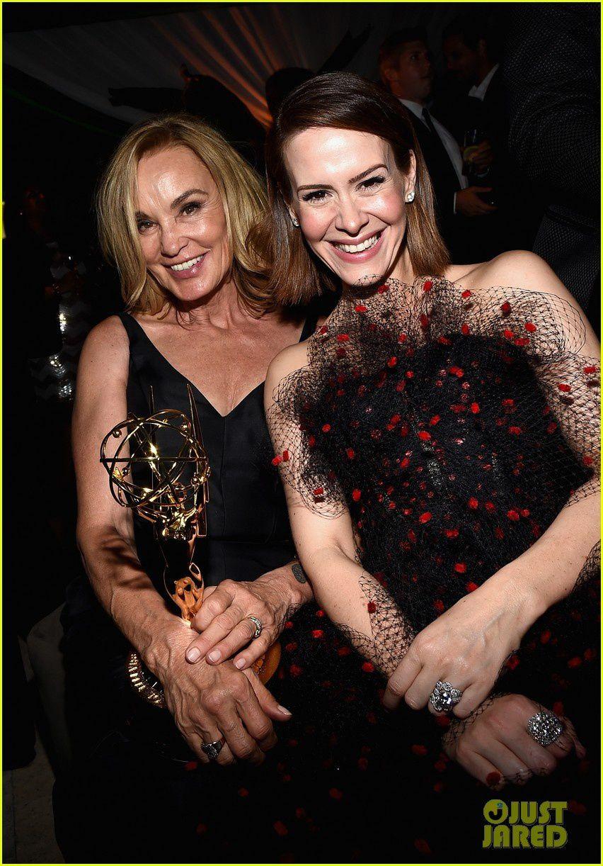 Jessica Lange et Sarah Paulson - © Getty
