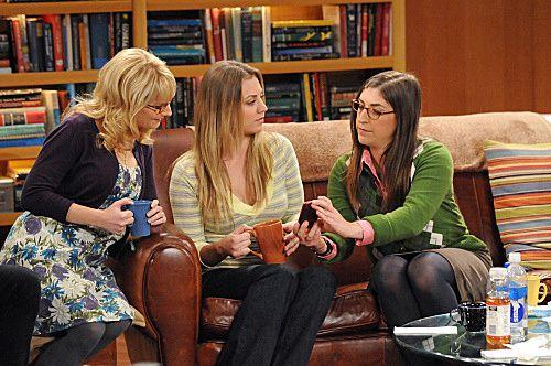 Bernadette, Penny et Amy - © CBS