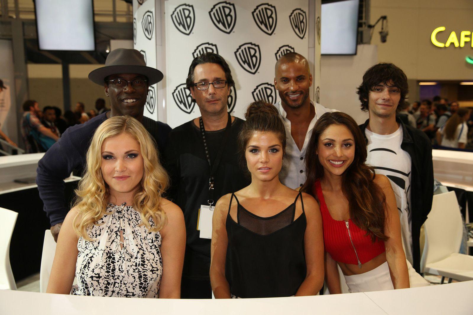 Le cast de The 100 - © Getty