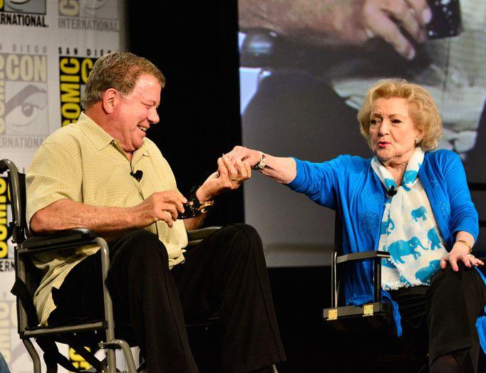 Même au Comic Con, on retrouve Betty White ! - © Getty