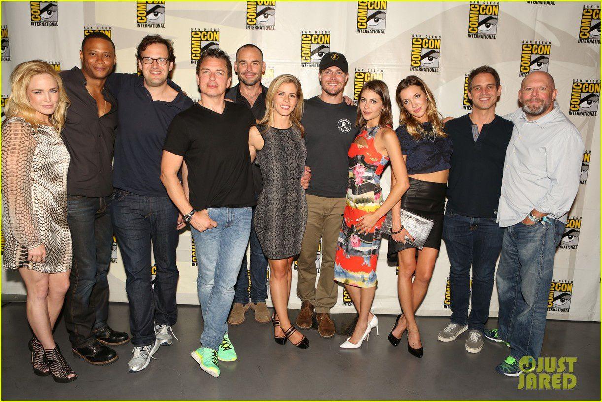 Le cast de Arrow - © Getty