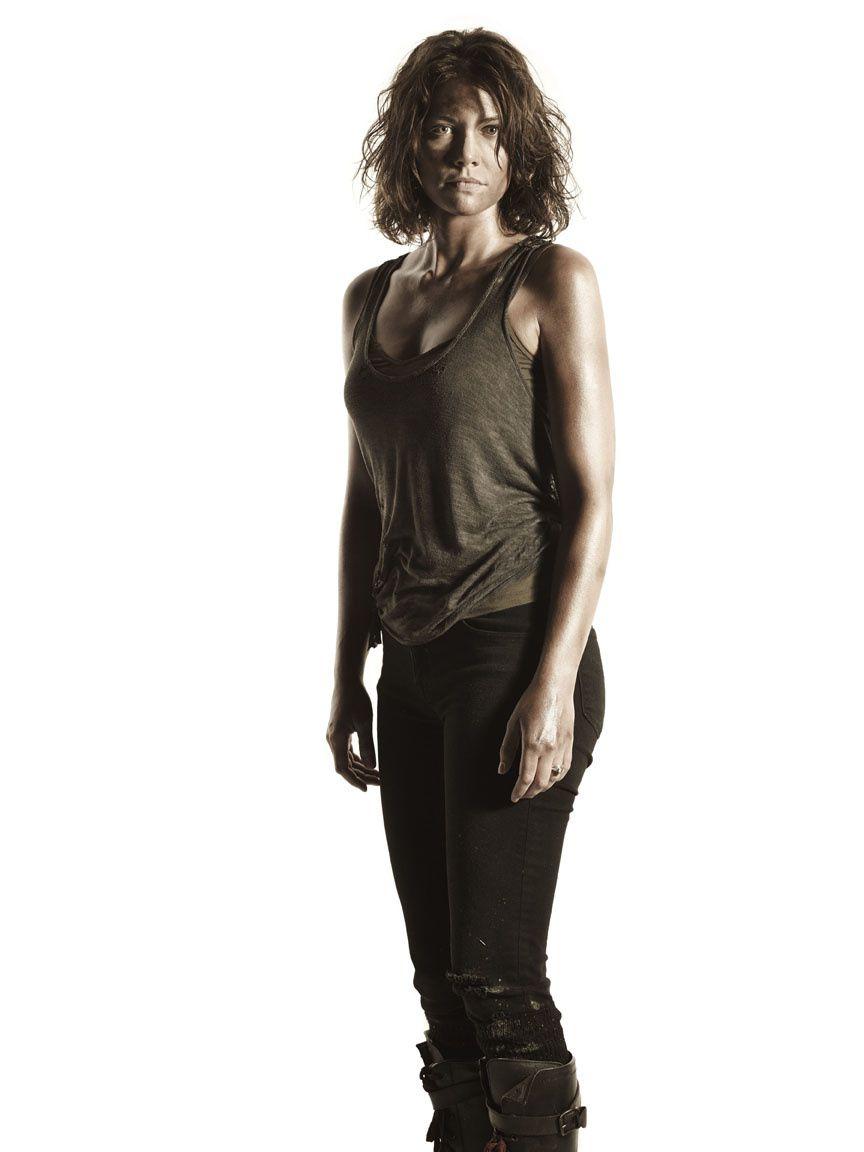 """Maggie (Lauren Cohan), toujours prête pour de nouveaux combats dans """"The Walking Dead"""" - © AMC"""