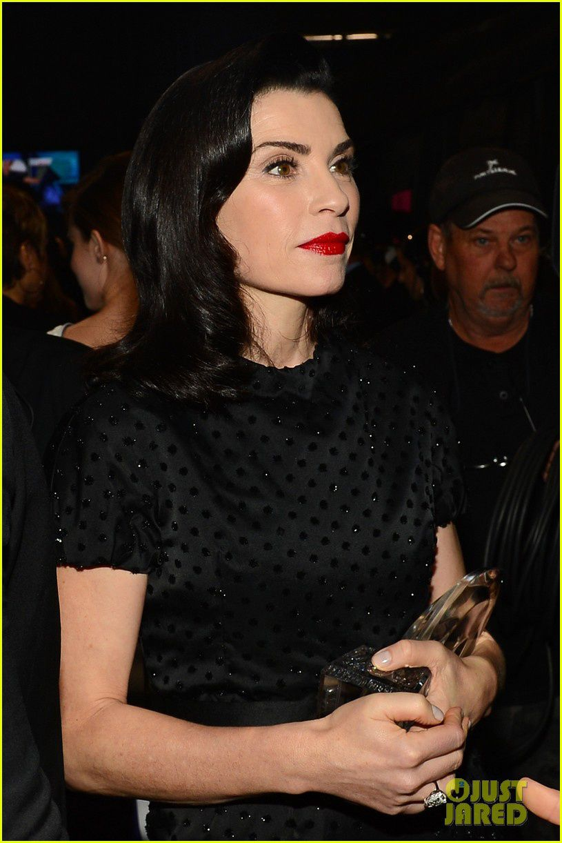 Julianna Margulies très gothique - © Getty/Just Jared
