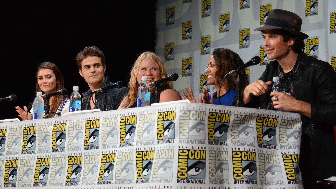 La panel The Vampire Diaries - © Getty