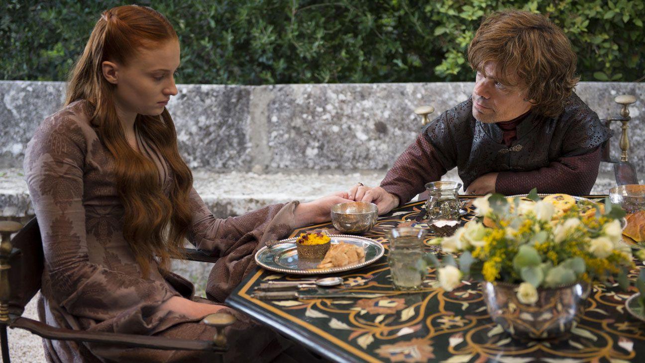 Sansa, épanouie par le mariage ! - © HBO